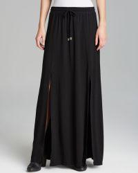 Michael Stars - Maxi Skirt Front Slit - Lyst