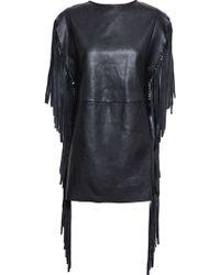 Saint Laurent 'Psych Rock' Dress - Lyst