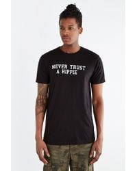 Mark McNairy New Amsterdam Never Trust A Hippie Tee - Lyst