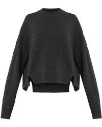 Dolce & Gabbana Crew-Neck Cashmere Sweater - Lyst