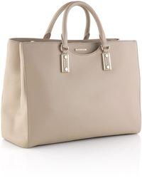 Hugo Boss Shopper 'Malia-G' In Grained Leather - Lyst