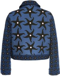 Holly Fulton - Roland Cropped Jacket - Lyst