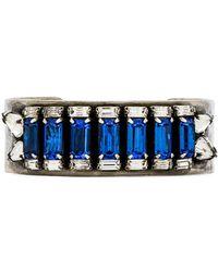 Dannijo Blue Meadows Bracelet - Lyst
