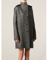 Lanvin Over Sized Coat - Lyst