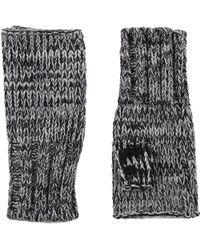 Hat Attack Fingerless Gloves - Lyst