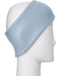 Portolano - Cashmere Honeycomb Headband - Lyst