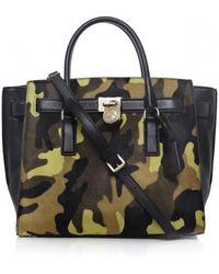 MICHAEL Michael Kors Hamilton Travel Tote Bag - Lyst