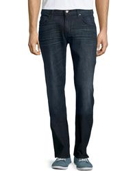 7 For All Mankind Austyn Relaxed Straight-leg Jeans - Lyst