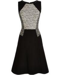 Coast Black Trent Dress - Lyst