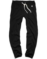 Todd Snyder X Champion | Classic Sweatpant In Black | Lyst