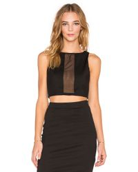 Tiger Mist - See Through You Crop Top - Lyst
