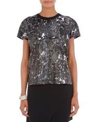 Balenciaga Coated Terrazzo-Print T-Shirt - Lyst
