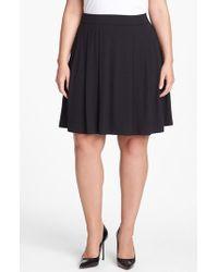 Eileen Fisher Pleat Skirt - Lyst