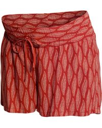 H&M Mama Patterned Shorts - Lyst