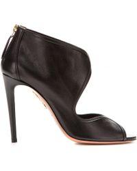 Aquazzura Bianca Leather Pumps - Lyst