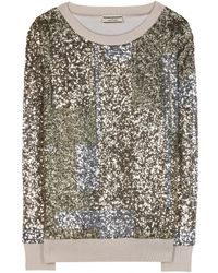 By Malene Birger Usiko Sequin Sweater - Lyst