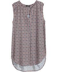 H&M Sleeveless Blouse - Lyst