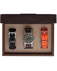 Filson | 'mackinaw Field' Leather Strap Watch Box Set | Lyst
