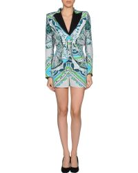 Emilio Pucci Short Pant Overall - Lyst