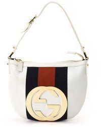 Gucci White White Handbag - Lyst