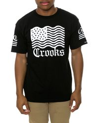 Crooks And Castles The Republic Tee - Lyst