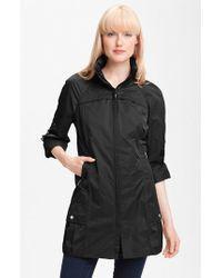 Rainforest - Packable Roll Sleeve Anorak, Black - Lyst