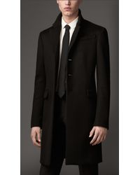 Burberry Cashmere Chesterfield - Lyst