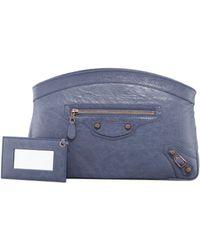 Balenciaga Giant 12 Rose Golden Premier Clutch Bag - Lyst