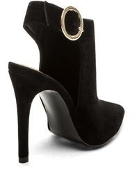 Steve Madden Black Pointer Bootie - Lyst