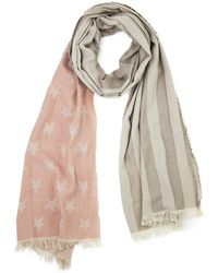 Look By M | American Flag Scarf | Lyst