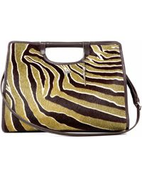 Lucque - Riviera Tote Zebra - Lyst