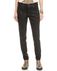 Wildfox - Marissa Slouchy Skinny Jeans - Shale - Lyst