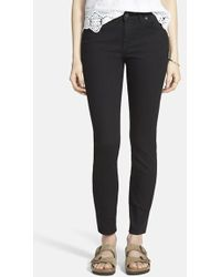 Madewell Low Rise 'Skinny Skinny' High Rise Jeans - Lyst