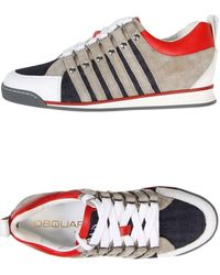 DSquared2 Low Tops Trainers - Lyst