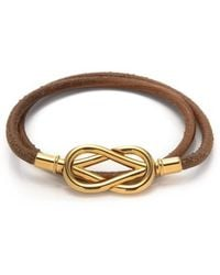 Hermes Pre-Owned Atame Bracelet - Lyst