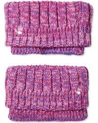 BEARPAW - Sweater Knit Boot Cuffs - Lyst