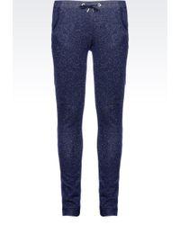 Armani Jeans - Sweat Pants With Lurex - Lyst