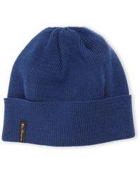 Ben Sherman Blue Knit Beanie - Lyst
