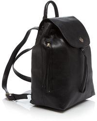 Tory Burch Backpack - Brody black - Lyst