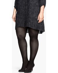 H&M 2pack Tights - Lyst