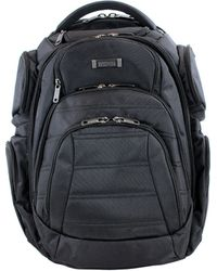 Kenneth Cole Reaction - Double Gusset Computer Backpack - Lyst