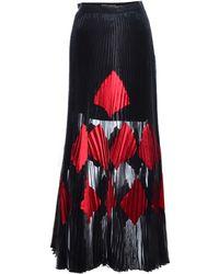 Georgia Hardinge - Fragment Pleat Maxi Skirt In Black - Lyst