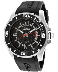 Elini Barokas - Artisan Black Silicone And Dial Stainless Steel - Lyst