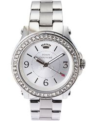 Juicy Couture 1901058 Silver-Tone Watch & Keychain Set - Lyst