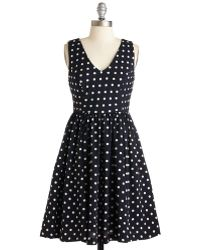 Everly Clothing Speck For Yourself Dress blue - Lyst