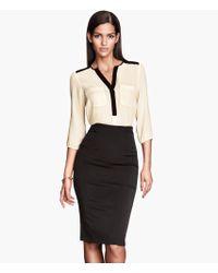 H&M Pencil Skirt - Lyst