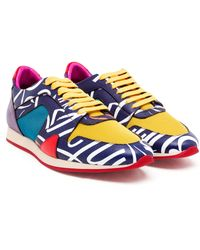 Burberry Prorsum The Field Sneaker With Writer Print - Lyst