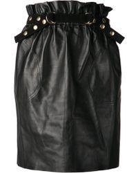 Adam Lippes Paper Bag Skirt - Lyst