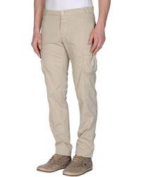 Coast + Weber + Ahaus Casual Trouser beige - Lyst