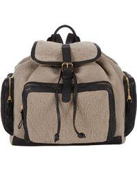 Pierre Hardy - Shearling Av01 Backpack - Lyst